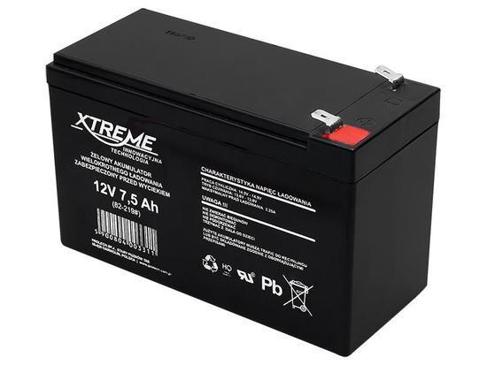 XTREME Nabíjecí gelová baterie 12V 7.5Ah, 82-219#