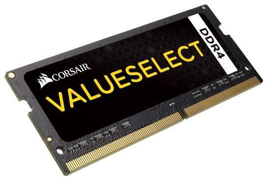 Corsair Value Select SODIMM DDR4 8GB 2133MHz CL15 CMSO8GX4M1A2133C15, CMSO8GX4M1A2133C15