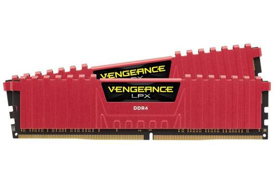 CORSAIR DDR4 16GB (2x8GB) 2400MHz CL16 CMK16GX4M2A2400C16R, CMK16GX4M2A2400C16R
