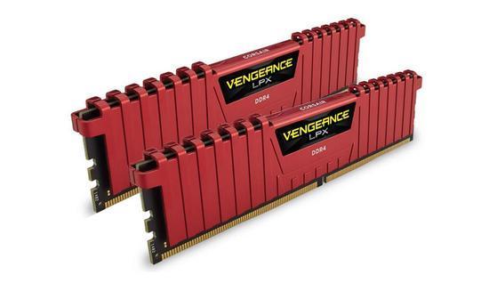 CORSAIR DDR4 8GB (2x4GB) 2400MHz CL16 CMK8GX4M2A2400C16R, CMK8GX4M2A2400C16R