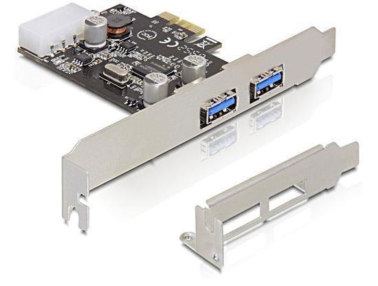 Delock karta PCI express -> 2x USB 3.0, 89243