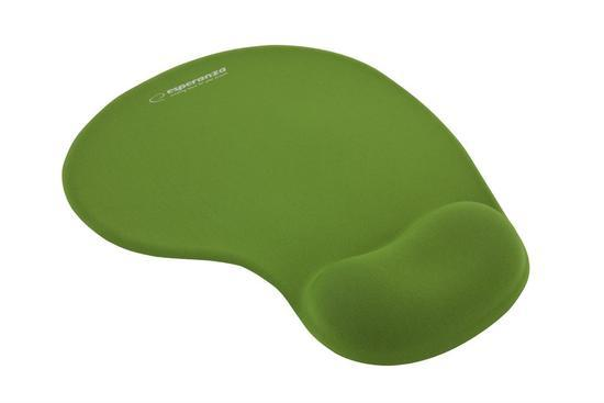 Podložka pod myš Esperanza - gelová zelená EA137G