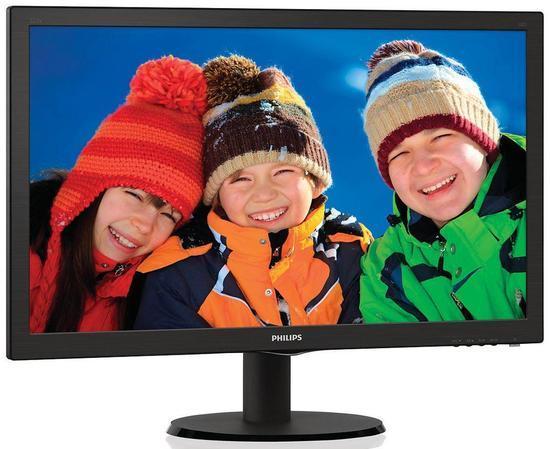 """Monitor Philips 223V5LSB2 21.5"""",LED, TFT, 5ms, 600:1, 200cd/m2, 1920 x 1080,, 223V5LSB2/10"""