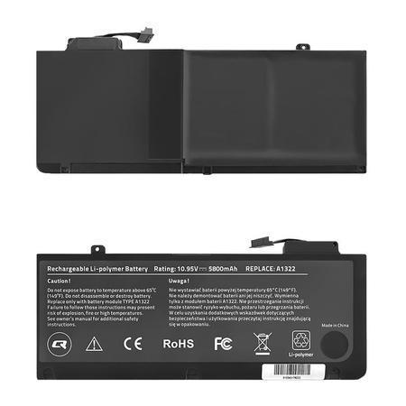 Qoltec Long Life baterie pro notebooky Apple MacBook Pro 13`` | 10.95V | 5800mAh, 52551