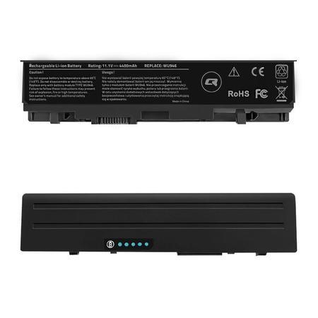 Qoltec Long Life baterie pro notebooky Dell Studio 1535 | 10.8-11.1V | 4400mAh, 52516