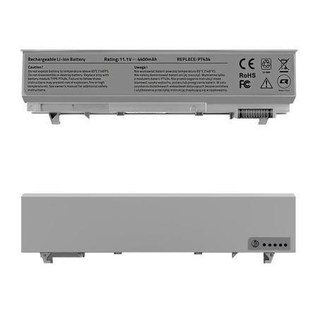 Qoltec Long Life baterie pro notebooky Dell Latitude E6400 E6500|11.1 V|4400 mAh, 52518