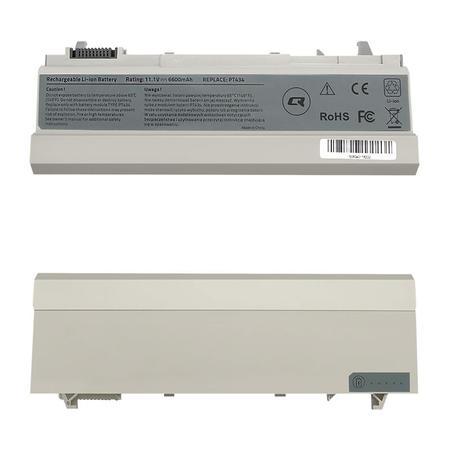 Qoltec Long Life baterie pro notebooky Dell E6400 E6500 | 10.8-11.1V | 6600mAh, 52528