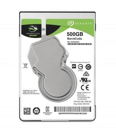 "Seagate BarraCuda 500GB, 2,5"", SATAIII, 7200rpm, ST500LM034"