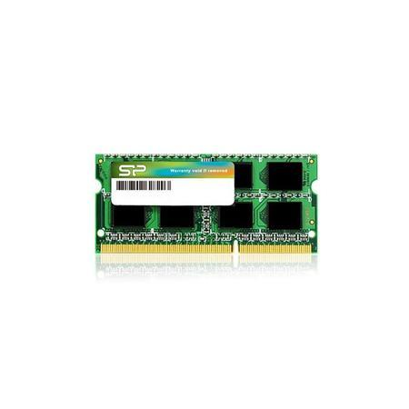 Silicon Power DDR3 4GB 1600MHz CL11 SO-DIMM 1.35V Low Voltage, SP004GLSTU160N02
