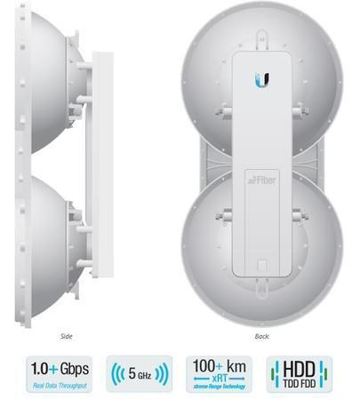 UBIQUITI AF5U Ubiquiti airFiber 5U 5.7 - 6.2GHz Point-to-Point 1+Gbps Radio, AF5U