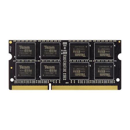 Team SODIMM DDR3 8GB 1600MHz Elite CL11 TED38G1600C11-S01