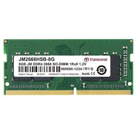 Transcend SODIMM DDR4 8GB 2666MHz CL19 JM2666HSB-8G