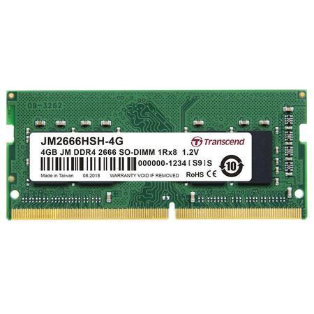 Transcend SODIMM DDR4 4GB 2666MHz CL19 JM2666HSH-4G