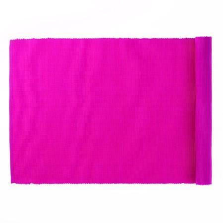 Prostírání 130 x 40 cm PUR růžová