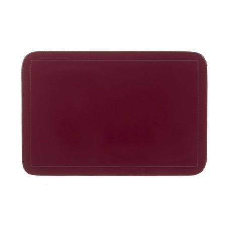 Prostírání UNI tmavě červené, PVC 43,5x28,5 cm