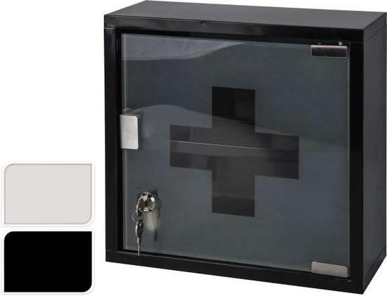 Emako kovová lékárnička skříňka na léky 2 úrovně