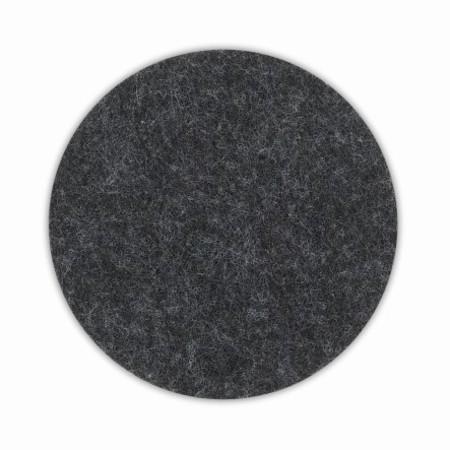 Kela Podtácek ALIA filc sada 4ks tmavě šedá KL-12333