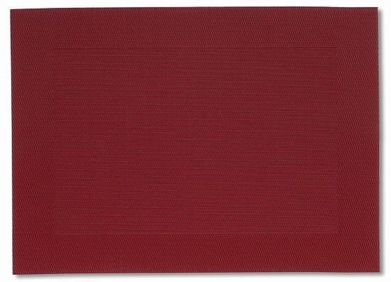 Prostírání NICOLETTA červená 45x33cm