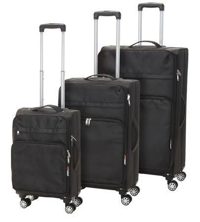 Kufr cestovní na kolečkách sada 3 ks