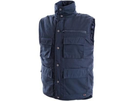 Pánská zimní vesta DENVER, modrá, vel. XL