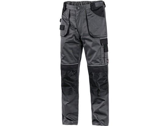 Kalhoty do pasu CXS ORION TEODOR, pánské, šedo-černé, vel. 60