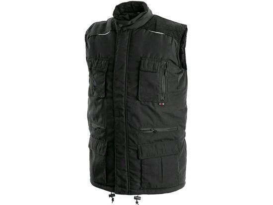 Pánská zimní vesta OHIO, černá, vel. 3XL