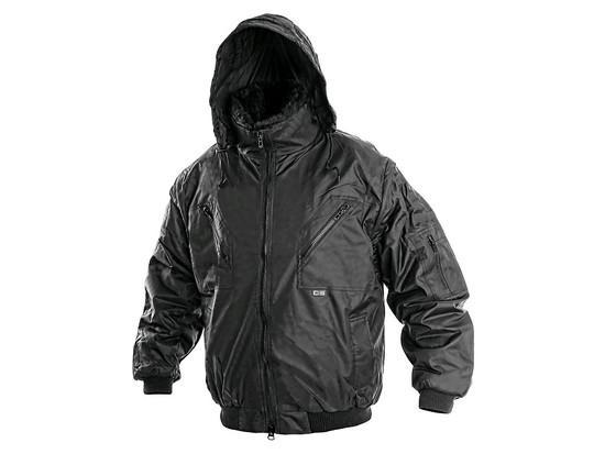 Pánská zimní bunda PILOT, černá, vel. S