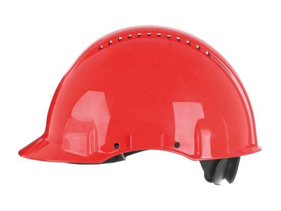 Ochranná přilba 3M G3000, červená, 54, -, 62, cm