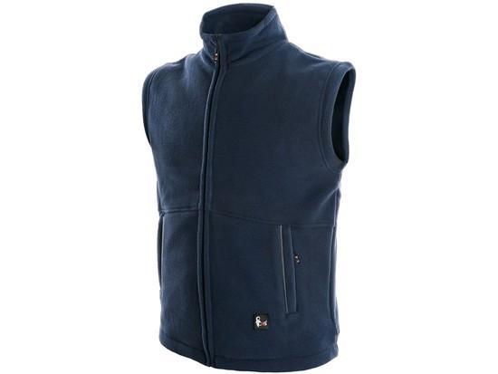 Pánská fleecová vesta UTAH, tmavě modrá, vel. L