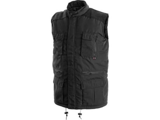 Pánská zimní vesta OHIO, černá, vel. M