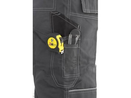 Kalhoty do pasu CXS ORION TEODOR, zimní, prodloužené, pánské, šedo-černé, vel. 60-62