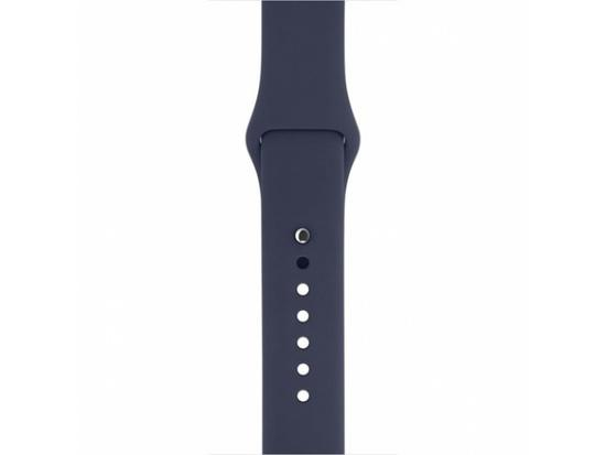 Silicon Sport Band For Apple Watch 38 / 40mm Dark Blue