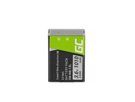 Baterie Green Cell ® NB-13L pro Canon PowerShot G5 X, G7 X, G7 X Mark II, G9 X,