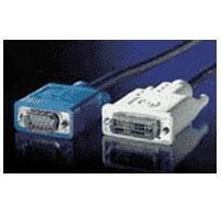 KABEL propojovací DVI-VGA,DVI-A(M)/MD15HD,3.0m, kpdvi1a3/50991