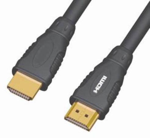KABEL propojovací HDMI M - HDMI M, 1m, dual shielded, standard 1.3 HQ