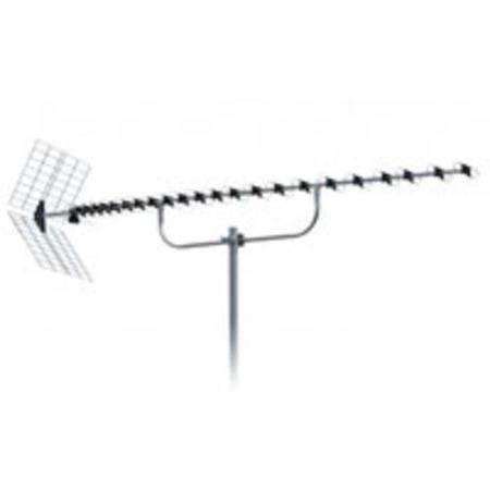 ISKRA DVB-T UHF ext. anténa DTX-92F 12-18,5dBi LTE filtr