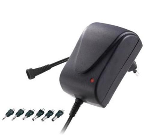 Univerzální napájecí adaptér 230V/3-12V stejnosměrný, 6ks koncovek, ppadapter-01