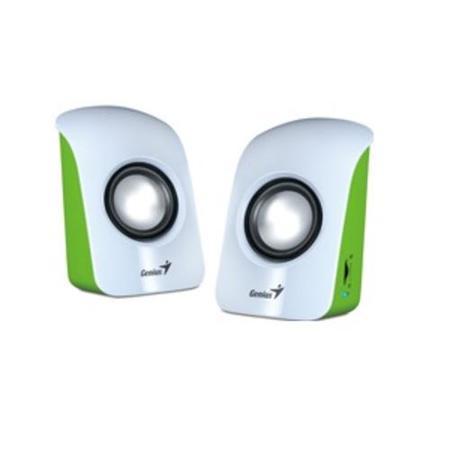 GENIUS repro SP-U115 USB napájení, přenosné white/green 2.0 3W RMS (bílo-zelené), 31731006103