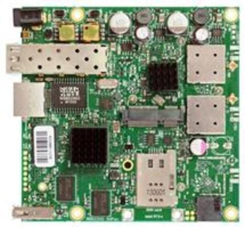 MIKROTIK RB922UAGS-5HPacD, 802.11ac 2x2 two chain, RouterOS L4, miniPCIe, USB, SFP, SIM, 1xGLAN, 2xMMCX