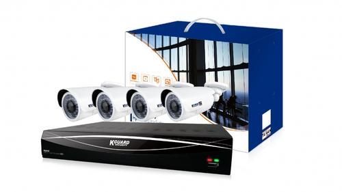 KGUARD hybrid set HD481-4WA813F 4+2 (CCTV+IP)kanálový rekordér 1080P/720p/960H/IPcam+4x 2M barevná venkovní kamera, HD481-4WA813F