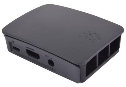 RASPBERRY case Original černá pro Raspberry Pi model B+, Rpi 2 B, Rpi 3 B, RB-Case+06B