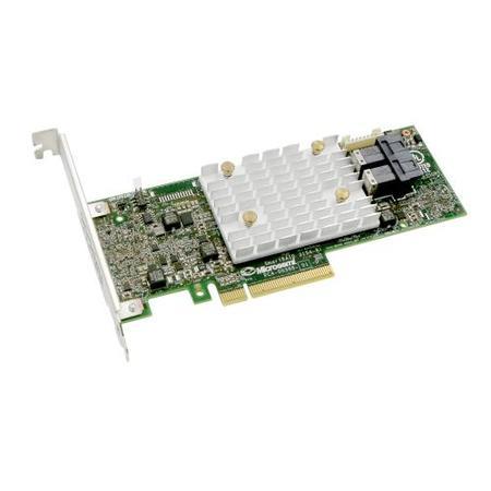 Microsemi Adaptec SmartRAID 3154-8i Single 12Gbps SAS/SATA 8 portů int., x8 PCIe Gen 3, cache paměť