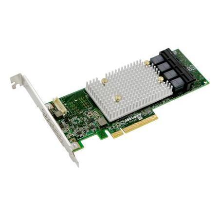 Microsemi Adaptec SmartRAID 3154-16i Single 12Gbps SAS/SATA 16 portů int., x8 PCIe Gen 3, cache pamě