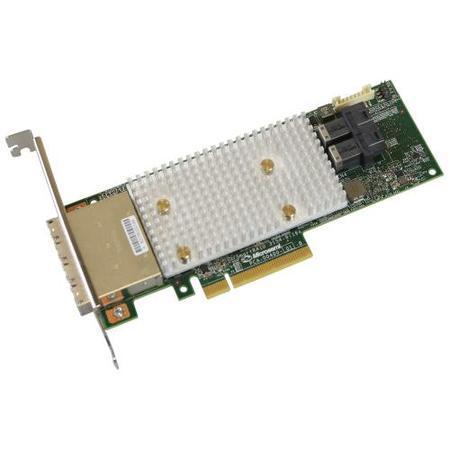 Microsemi Adaptec SmartRAID 3154-8i16e Single 12Gbps SAS/SATA 8 portů int., 16 portů ext., x8 PCIe G