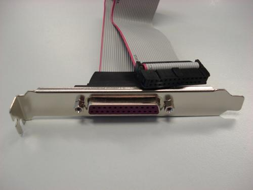 ASROCK LPT-PORT pro motherboardy ASROCK (1x LPT/PRN port 25pin, záslepka) bracket, LPT-PORT
