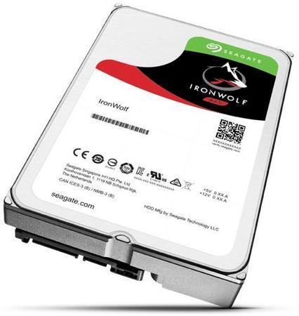 SEAGATE ST3000VN007 hdd 3TB SATA3-6Gbps 5900rpm 64MB IronWolf NAS HDD 24x7 1-8bay 180MB/s 3.5 RAID