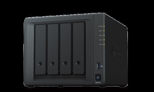 SYNOLOGY DS418 Disc Station datové úložiště (pro 4x HDD, CPU 2x1.4GHz, 2GB RAM, NAS), DS418