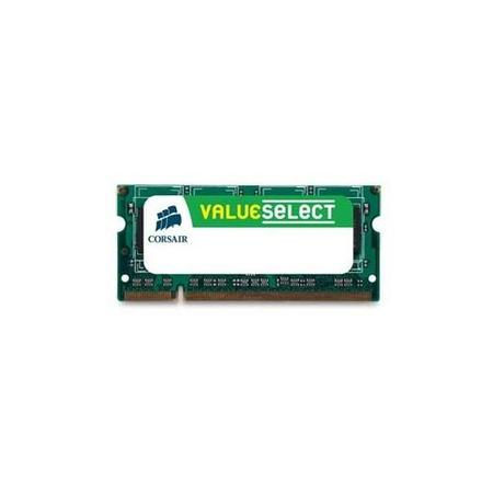 Corsair Value SODIMM DDR3 8GB 1600MHz CL11 CMSO8GX3M1A1600C11