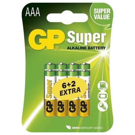 GP Super AAA 6+2ks 1013118000