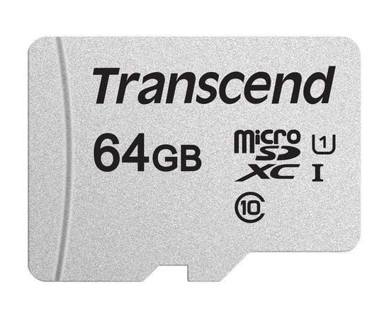 Transcend microSDXC UHS-I U1 64GB TS64GUSD300S-A